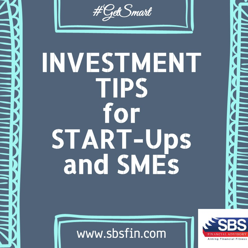 Investment Tips for Startups!