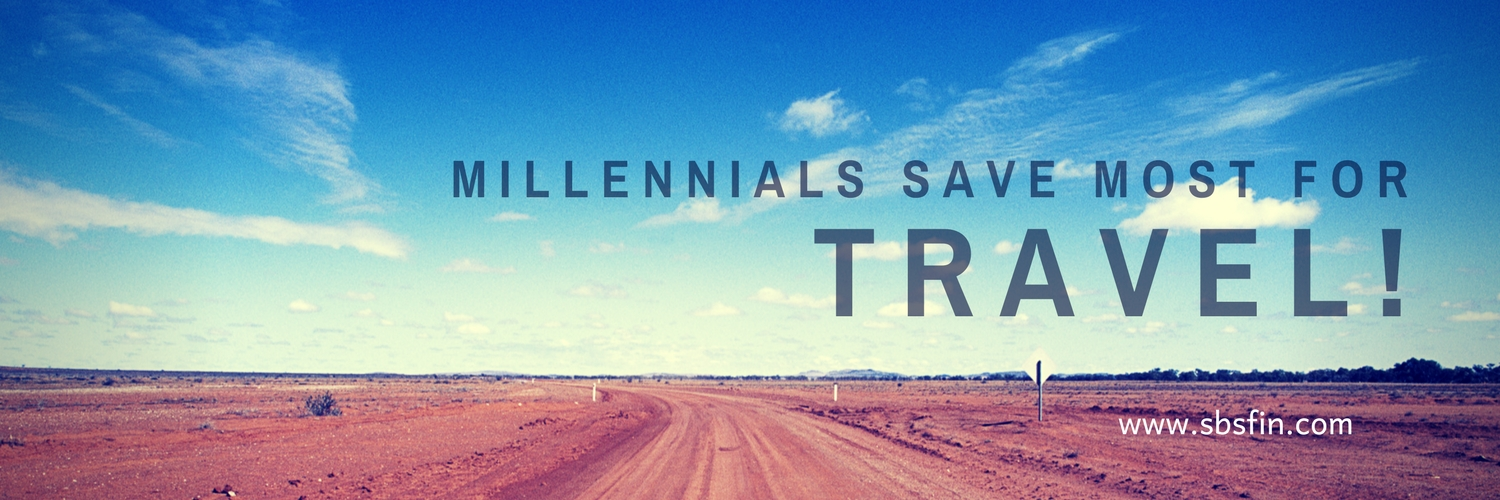 What do Millennials save for?
